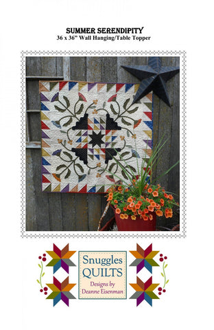 Snuggles Quilts SQ258 Summer Serendipity Pattern