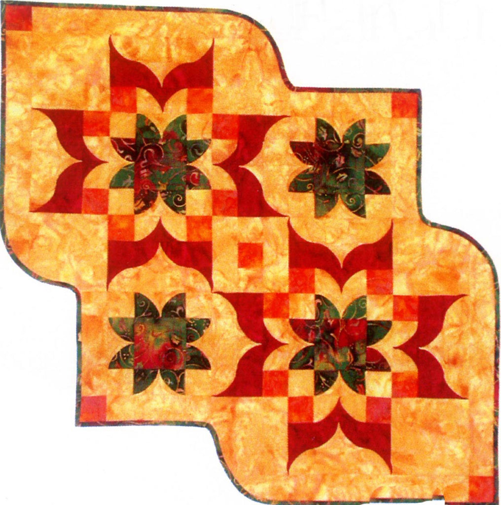 Victorian Table Runner Quilting  Pattern