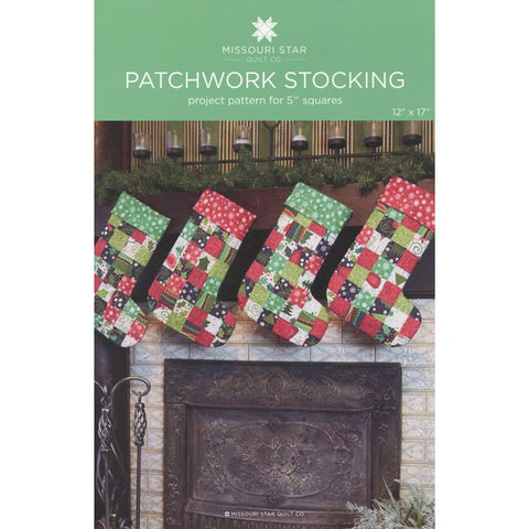Missouri Star Quilt CO - Patchwork Stockings  Pattern