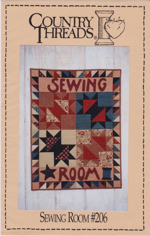 "Country Threads Pattern ""Sewing Room"""