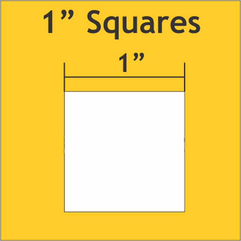 "1"" Squares: Small Pack 150 Pieces"