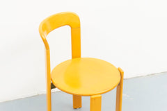 Chaise Kusch+co Bruno Rey Jaune