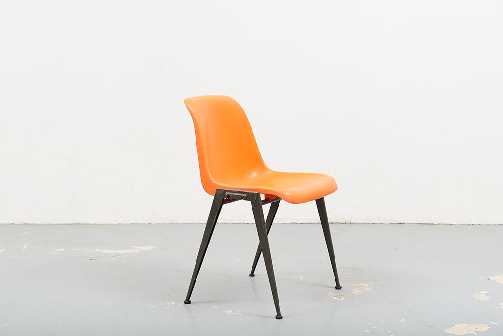 Chaise Presikhaaf Orange / Gris