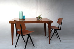 Table scandinave (84x130cm) - Cartel de Belleville mobilier vintage paris