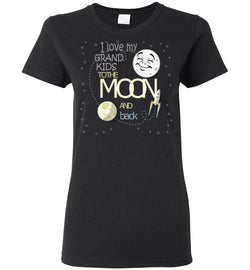 I Love My Grand Kids to the Moon and Back T-Shirt - trendninjas