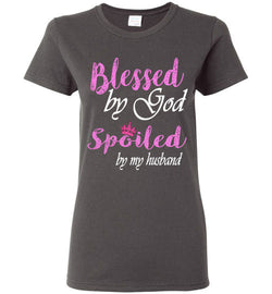 Spoiled by my Husband Ladies Shirt - trendninjas
