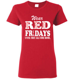(Front Only) Wear Red Fridays Unisex T-Shirt - trendninjas