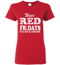 (Double Sided Print) Wear Red Fridays T-Shirt - trendninjas