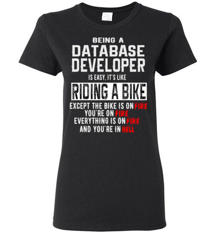 Being A Database Developer Is Easy T-Shirt