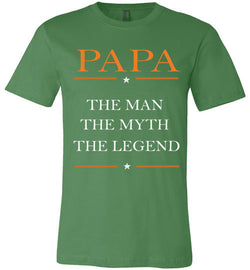 Papa The Man the myth the legend T-Shirt - trendninjas