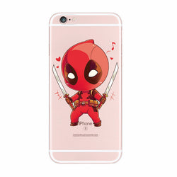 marvel For iPhone 4S 5S 6S 6Plus 7Plus 7 Samsung Galaxy  Deadpool - trendninjas