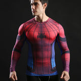Web Compression Shirt Long Sleeves