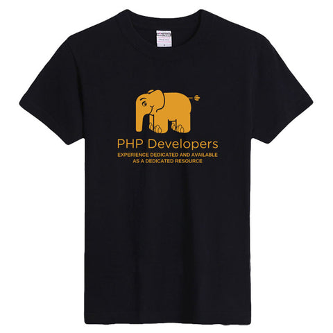 PHP Developers experience delicated & available as a dedicated resource Unisex T-Shirt - trendninjas