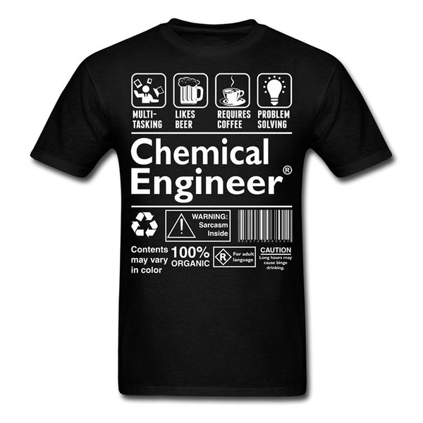 Chemical Engineer Funny Definition Men's T-Shirt - trendninjas