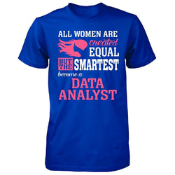 Data Analyst Women T-Shirt - trendninjas