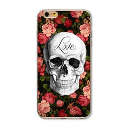 Pattern Case Cover For iphone 5 5s SE 6 6S Transparent Soft Silicone - trendninjas