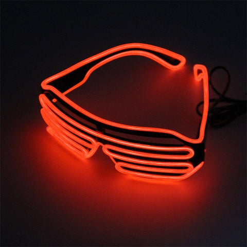 Red LED Glasses Light Up Shades - trendninjas