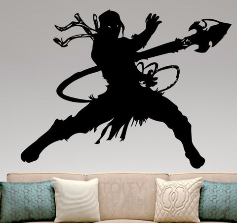 Autographed Daniel Pesina Removable Wall Decal - trendninjas