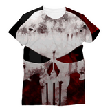 Skull Design Sublimation Unisex T-Shirt