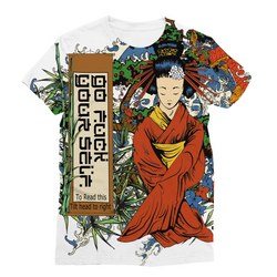 Go F**k Yourself (Learn Japanese) Sublimation Unisex T-Shirt - trendninjas
