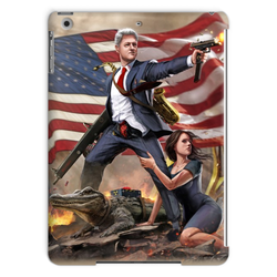 Bill Clinton - Slayer in Chief Tablet Case - trendninjas