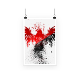 Abstract Eagle Design Poster