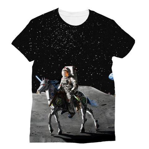 JFK Alien Slayer Sublimation Unisex T-Shirt - trendninjas
