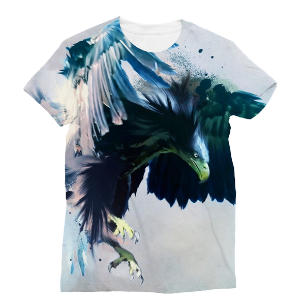 Eagle Attacks Sublimation Unisex T-Shirt - trendninjas