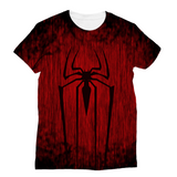 Spider3D Art Sublimation Unisex T-Shirt - trendninjas