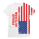 Proud Veteran Sublimation Unisex T-Shirt - trendninjas