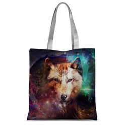 Abstract Wolf Design Tote Bag - trendninjas