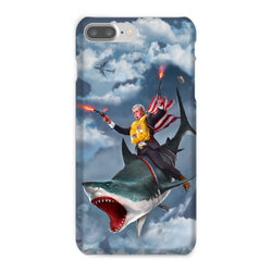 Cowboy Dubya - The Shark Rider Phone Case - trendninjas