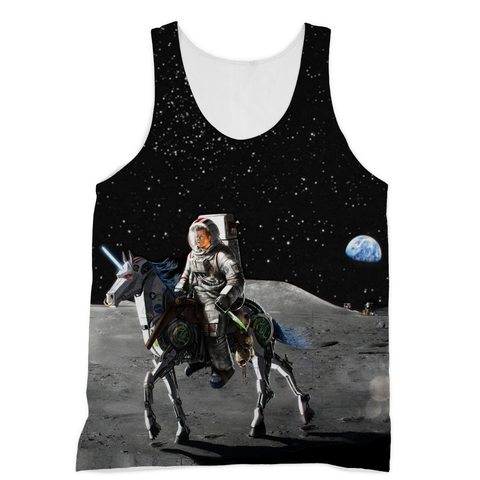 JFK Alien Slayer Sublimation Unisex Tank