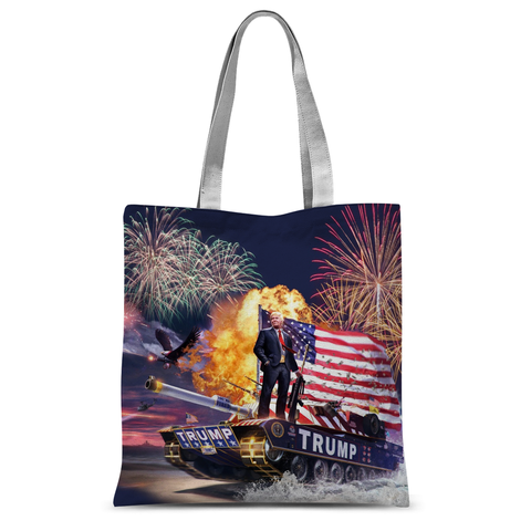 Donald Trump - Gold Plated Tote Bag