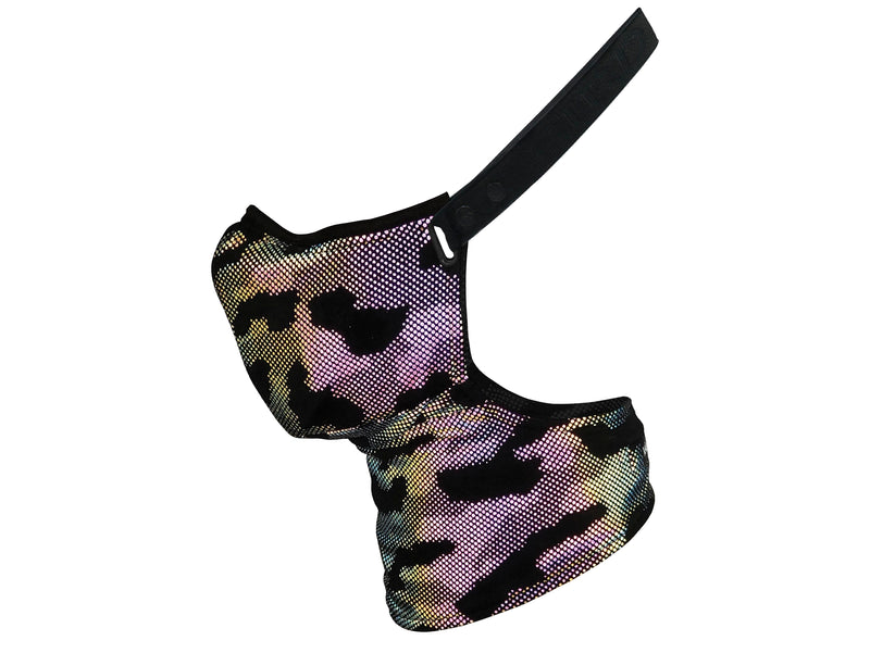 Reflective Camo Pollution Mask
