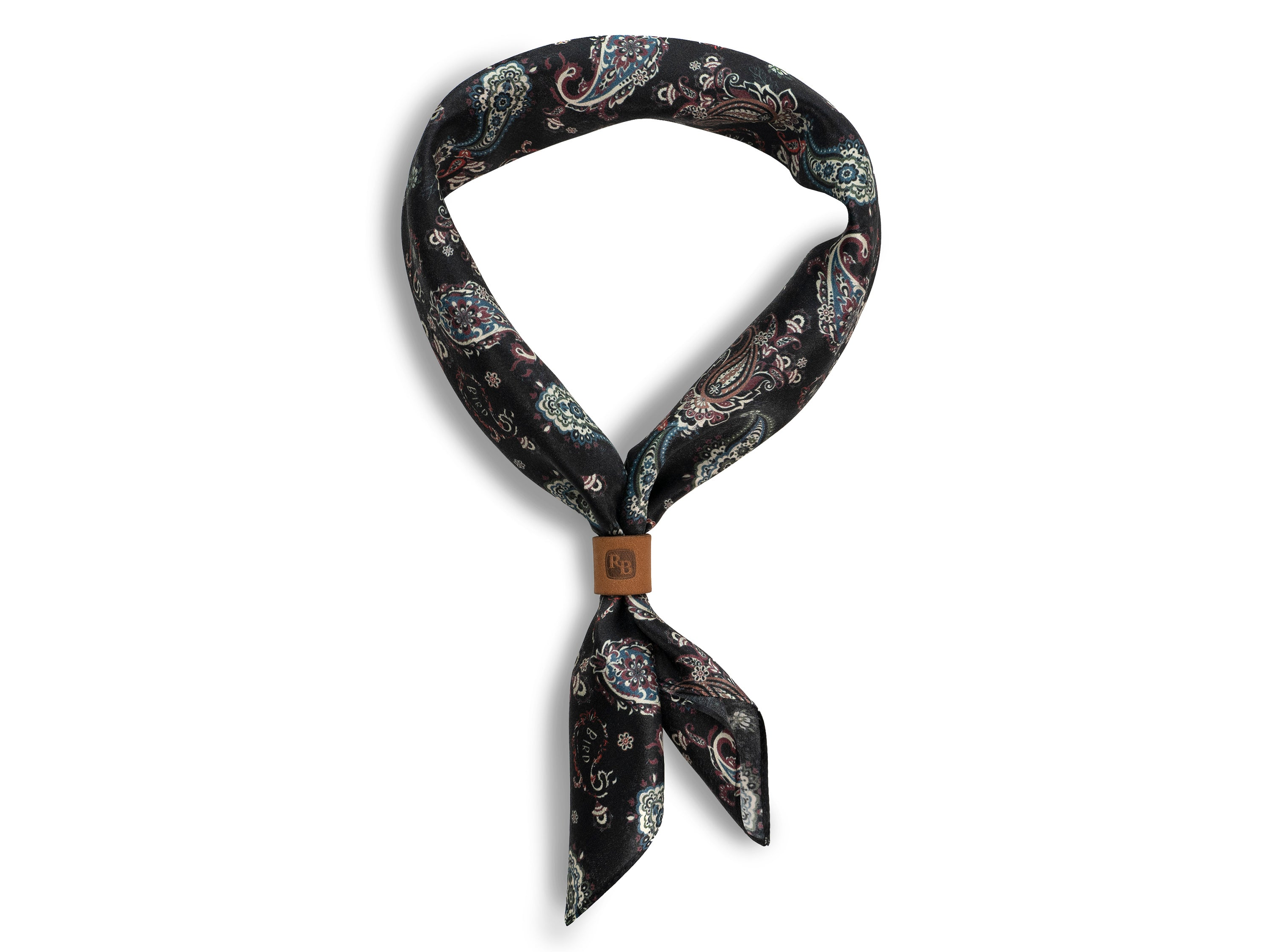 COMING SOON! Black Paisley Neckerchief