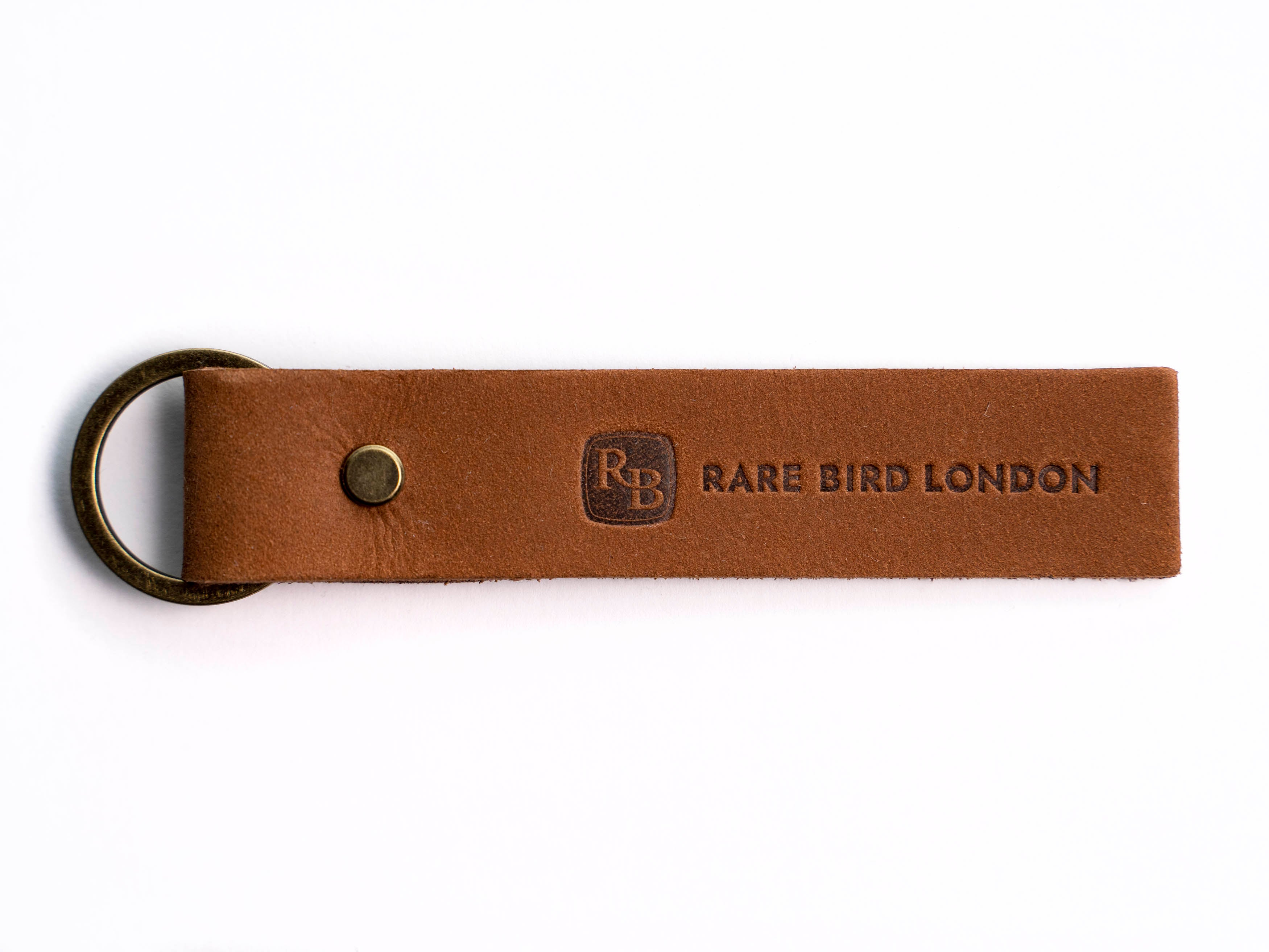 RBL Brown Key Ring