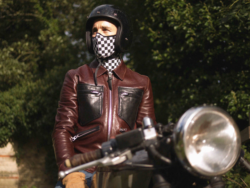 Racer Check Pollution Mask