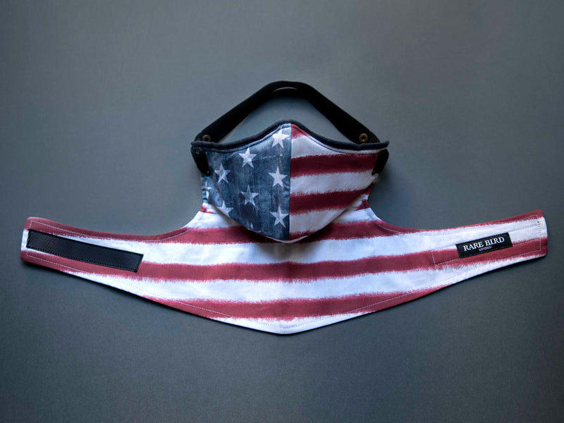 Stars & Stripes Pollution Mask