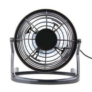 Small Portable USB 4 Blades Cooler Cooling Fan USB Mini Fans