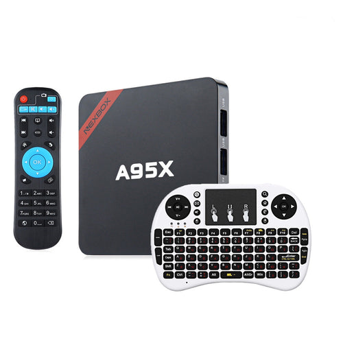A95X TV Box Amlogic S905X Quad Core 64 Bit Android 6.0 WiFi Media Player