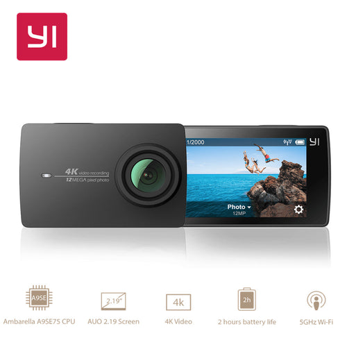 Action Camera Edition Ambarella A9SE Cortex-A9 ARM 12MP WIFI