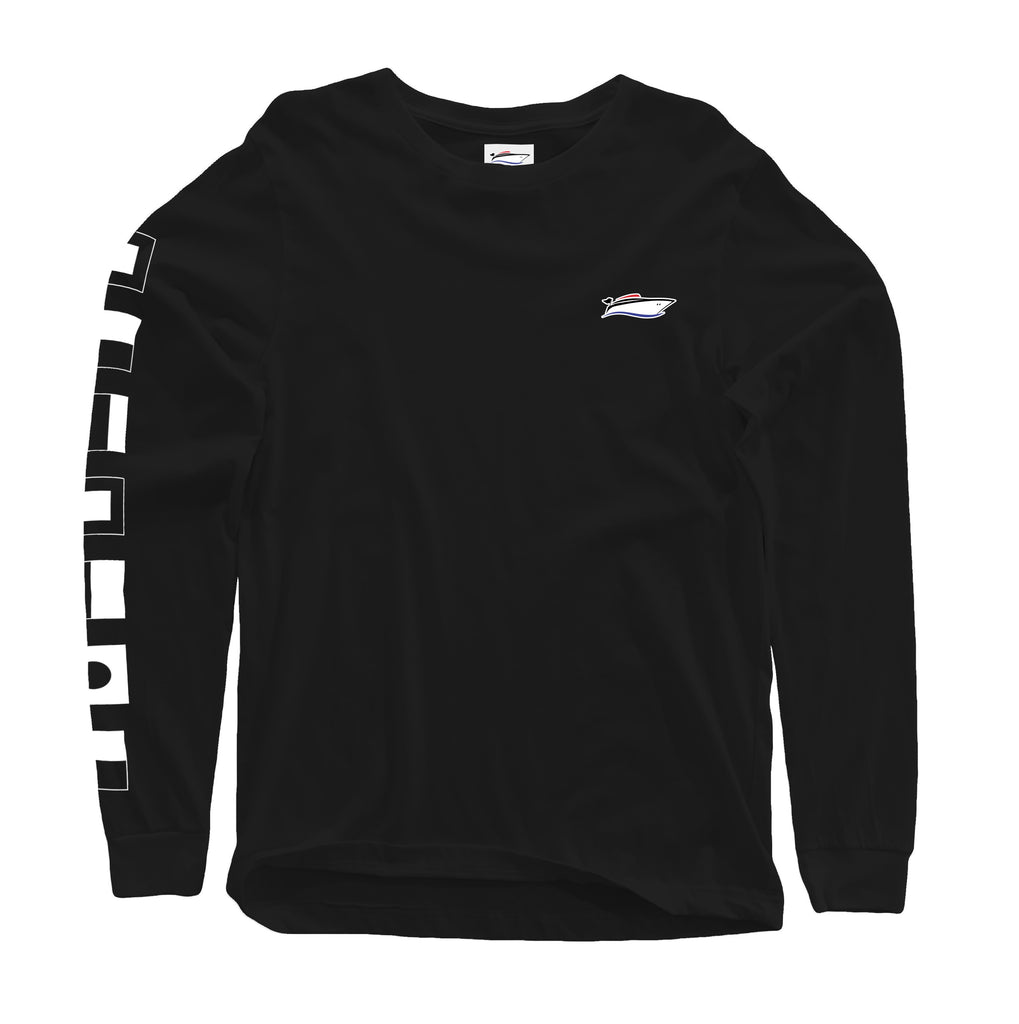 Black Signal Flag Long Sleeve