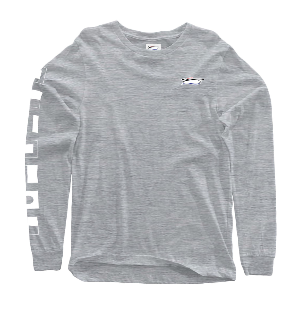 Gray Signal Flag Long Sleeve