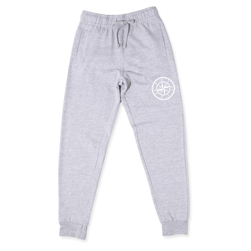 Heather Grey Compass Joggers