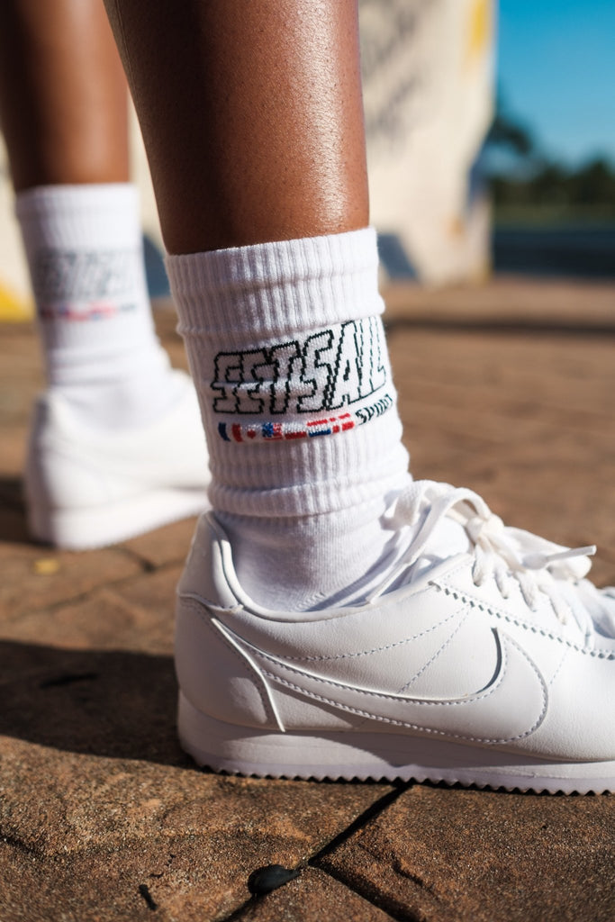 Set Sail Sport Logo Socks - SET SAIL APPAREL