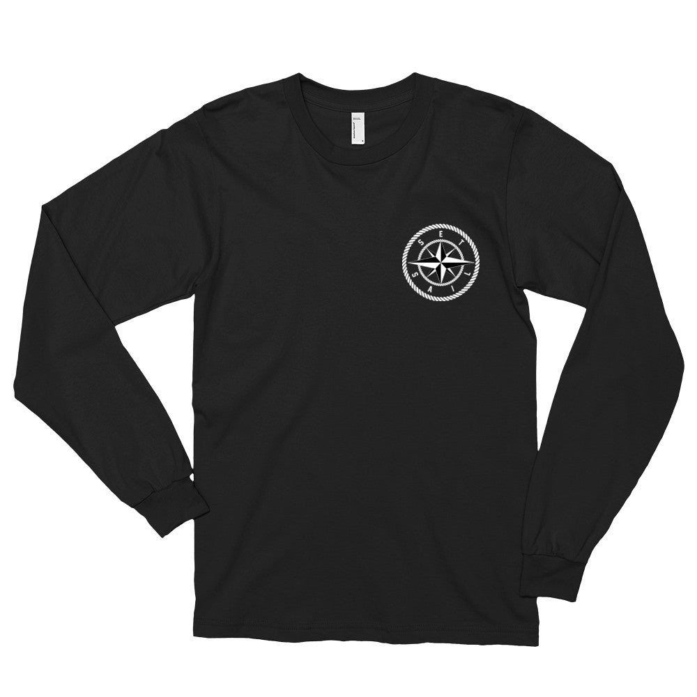 Black Compass Long Sleeve