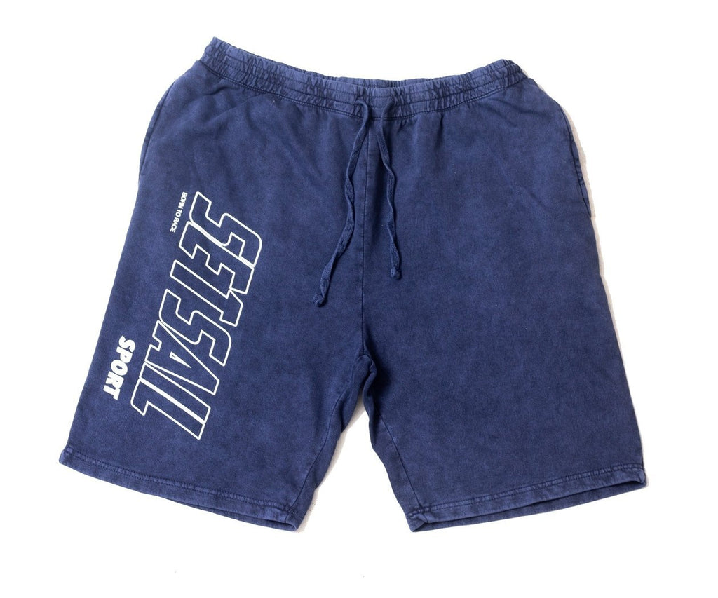 Vintage Denim Logo Branded Shorts - SET SAIL APPAREL