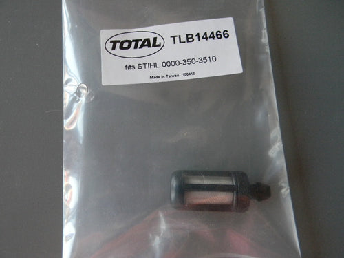 TLB14466 FUEL FILTER : STIHL 070, 090  OEM = 0000-350-3510
