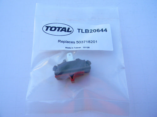 TLB20644 SWITCH STOP : JONSERED 370, 2063, 2065, 2071, 2165, 2171, 2172, BC2125D, BP40, CC2036, CC2145, FS2145S,GC2125L,GR2032,ETC: Husqvarna 362, 365, 372 plus many more! OEM = 503-718201